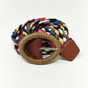 Guess || Woven Multicolor Belt